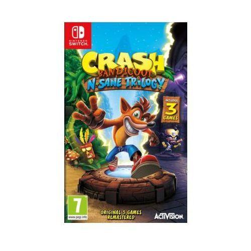 Crash bandicoot n. sane trilogy switch marki Cenega