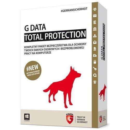 Gdata Total Protection 1 stanowisko 2 lata BOX (082502) Darmowy odbiór w 21 miastach!, 082502