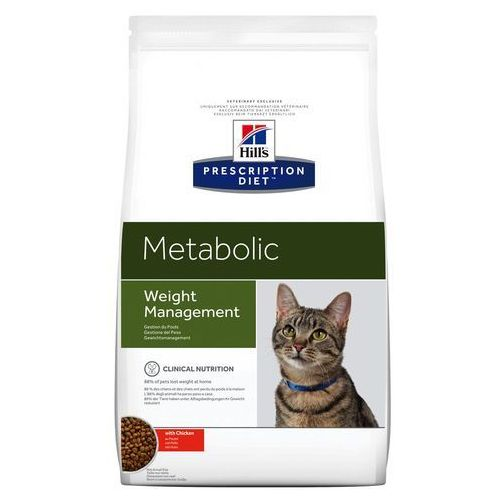 feline metabolic - redukcja wagi - 8 kg marki Hills prescription diet