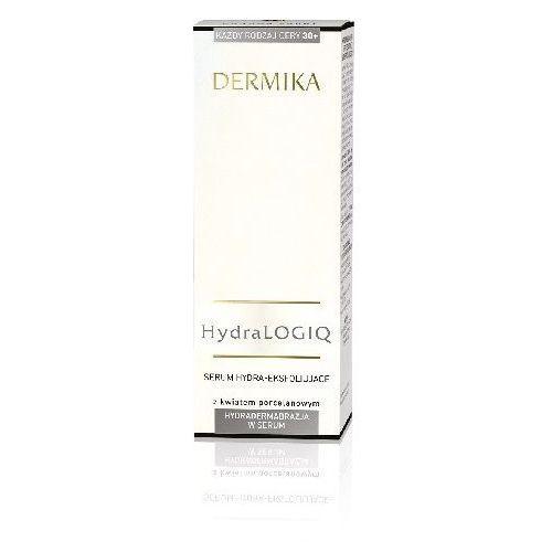 Dermika  hydralogiq, 30+ serum hydra-eksfoliujące do twarzy 30ml