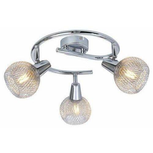 Reality Loretto 830733-06 spirala plafon lampa sufitowa spot 3x40W E14 chrom
