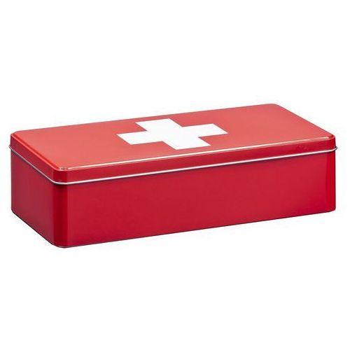 Zeller Metalowa apteczka, pudełko medyczne, 32x15x8 cm, (4003368192079)
