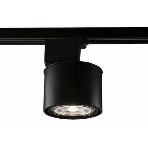 Reflektorowa LAMPA sufitowa MIKI 6614 Shilo regulowana OPRAWA metalowa do 3-fazowego systemu szynowego czarna, kolor biały;czarny