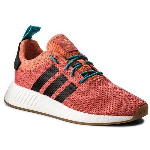 Adidas Buty - nmd_r2 summer cq3081 trace orange/gum 3/ftwr white