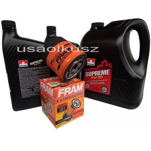 Olej 5W30 oraz filtr oleju silnika Chevrolet Suburban 1500 2000-2006
