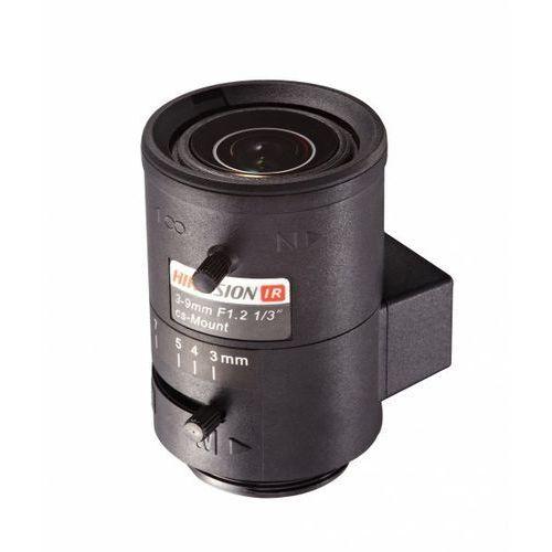 Obiektyw Hikvision asferyczny z korekcją IR 3.0 - 9.0 mm TV0309D-IR