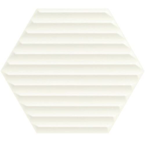 Paradyż Heksagon woodskin bianco struk. b 19,8x17,1 gat.ii