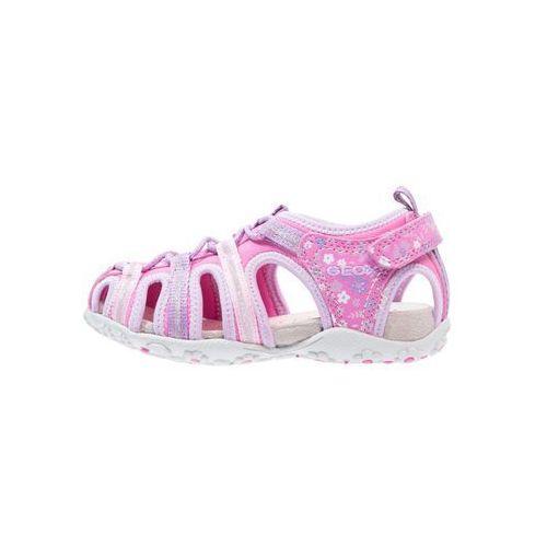 Geox sandal roxanne sandały trekkingowe fuchsia/lilac