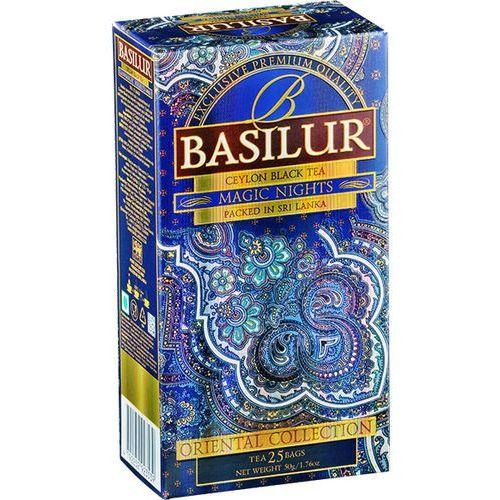 Herbata oriental collection magic nights 25 x 1,5g w saszetkach - marki Basilur