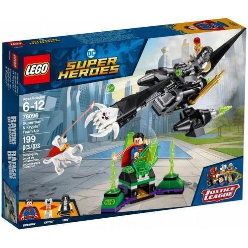 Klocki Lego Super Heroes Superman i Krypto łączą siły