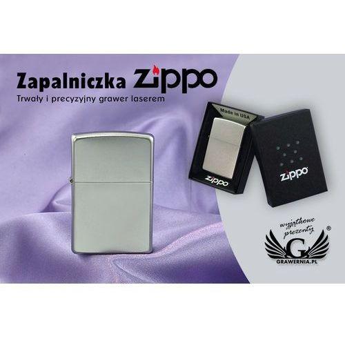 Zapalniczka satin chrome marki Zippo