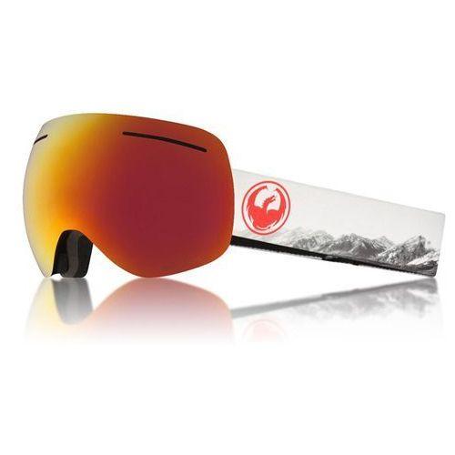 Dragon Gogle snowboardowe - x1 three realm/redion+rose (335) rozmiar: os
