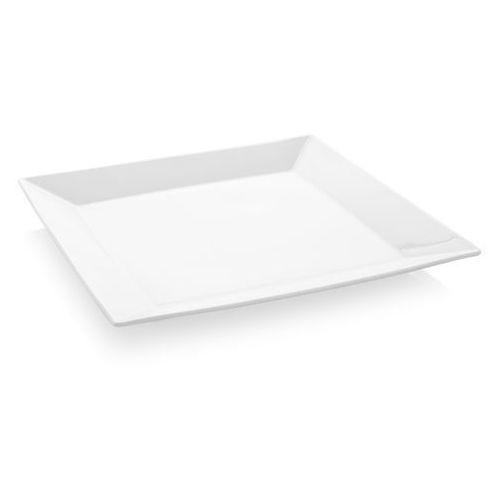 Talerz płytki kwadratowy porcelanowy bianco marki Fine dine