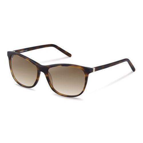 Okulary Słoneczne Rodenstock R3278 B, kolor żółty