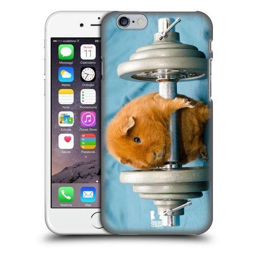 Head case Etui plastikowe na telefon - zabawne zwierzaki świnka morska kulturysta
