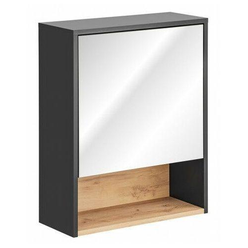 Wisząca szafka łazienkowa z lustrem - Ketris 4X 60 cm, BORNEO-COSMOS-840