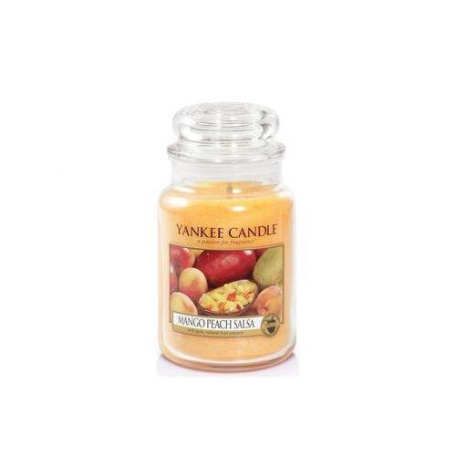 Yankee Candle Mango Peach Salsa 623g DUŻA ŚWIECA SZYBKA WYSYŁKA infolinia: 690-80-80-88, 5038580000405