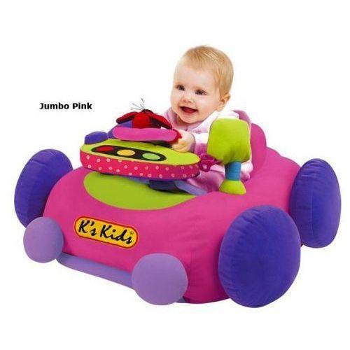 Samochód Jumbo Go Go Go K's Kids - pink