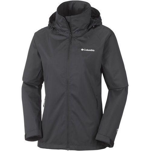 tapanga trail jacket kurtka hardshell black marki Columbia
