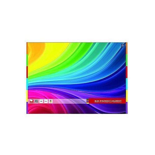 Interdruk Blok rysunkowy a3 kolorowy garwolin 20ark.