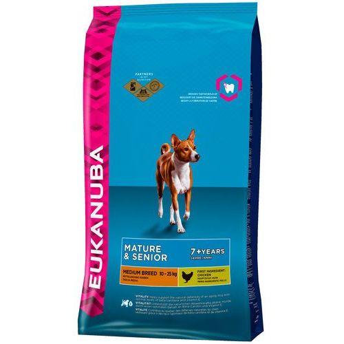Eukanuba mature & senior 7+ medium breed maintenance 2x15kg (5000174621099)