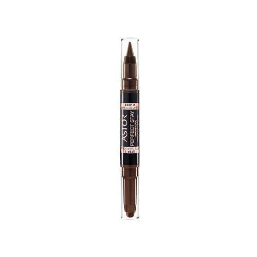 Astor Stay Brown   2w1 Cień i eyeliner w kredce 130 Smokey Brown 4g