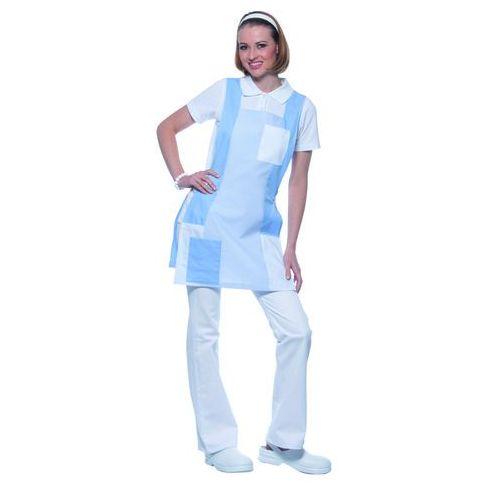 Tunika medyczna bez rękawów, rozmiar 0, jasnoniebieska | KARLOWSKY, Nala