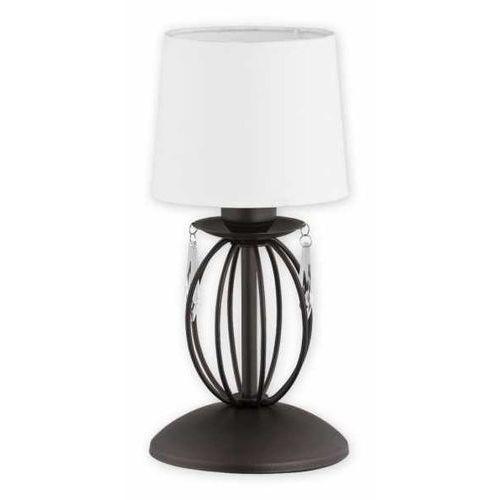 agila o2488 l1 rw lampka stołowa 1x60w e27 rdza wenge / biały marki Lemir