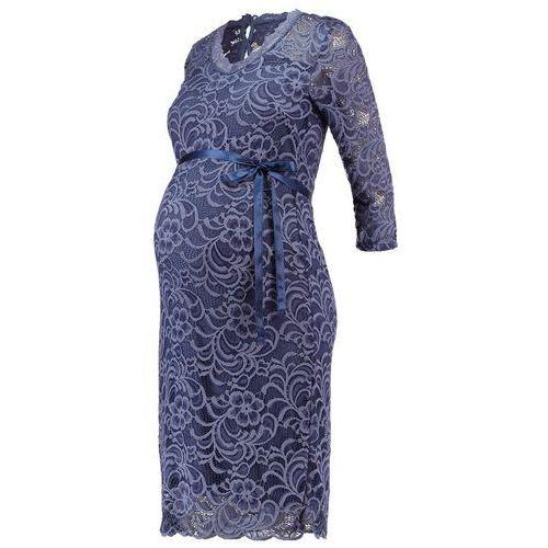 MAMALICIOUS MLMIVANA Sukienka etui vintage indigo, towar z kategorii: Sukienki ciążowe