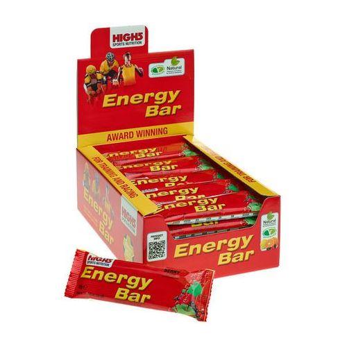 High5 energybar żywność dla sportowców red fruits 25 x 60g 2018 zestawy i multipaki (5027492998962)