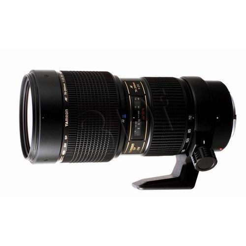 Obiektyw Tamron 70-200 mm f/2.8 Di LD [IF] Makro (Canon) + Velbon Monopod UP-400 (4960371004990)