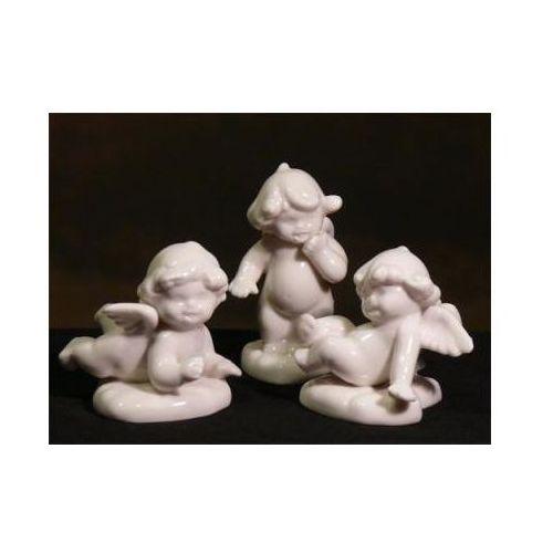 Aniołki ceramiczne ozdoby świąteczne