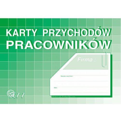 Karta przychodów pracownika michalczyk&prokop k11 - a4 marki Michalczyk i prokop
