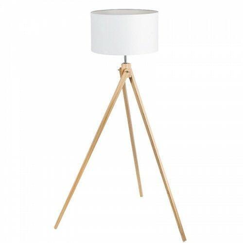 Lampa stojąca podłogowa soren 1x60w e27 biały/buk 4189 marki Rabalux