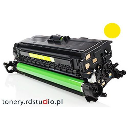 Toner do HP CP4025 HP CP4525 HP CM4540 - Zamiennik HP CE262A Yellow