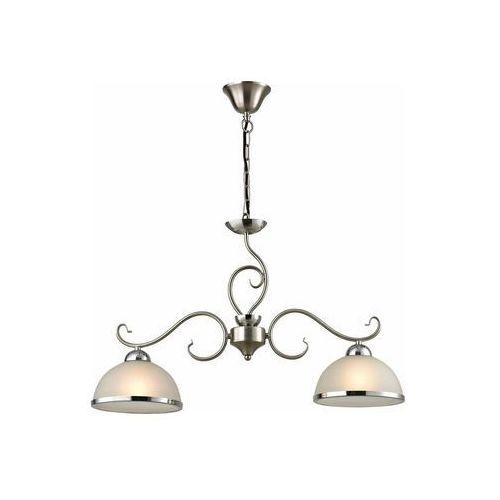 Lampa wisząca zwis Reality Lindgard 2x60W E27 nikiel mat 108702-07