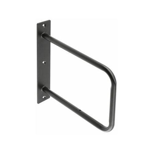 Wspornik półki stalowy czarny belt marki Gtv
