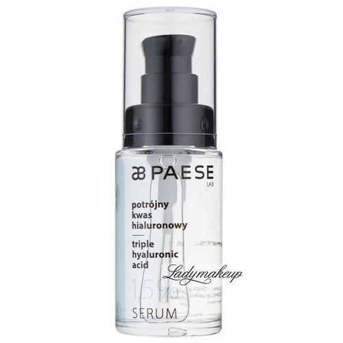 PAESE - Triple hyaluronic acid - SERUM - Potrójny kwas hialuronowy 1,5%