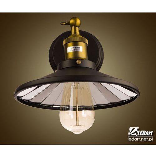 Kinkiet lampa ścienna led rotterdam w01161bk mir marki Cosmo light