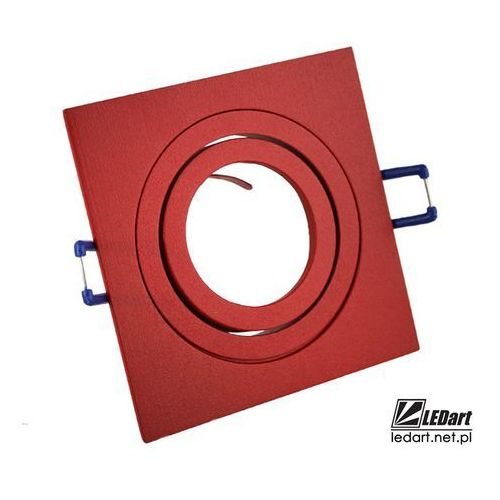 Oprawa halogenowa czerwona aluminium led ruchoma marki Ledart