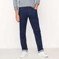 Dżinsy o prostym kroju, kolor niebieski