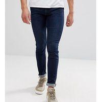 Replay Jondrill Skinny Jeans Darkwash - Navy, kolor szary