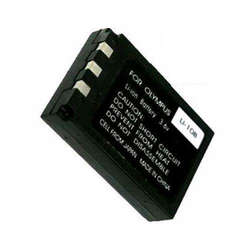Powersmart Nowy akumulator do olympus li-10b li-12b 4200 mah