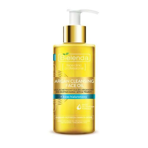 Uszlachetniony olejek arganowy do oczyszczania twarzy + kwas hialuronowy 140ml - Bielenda