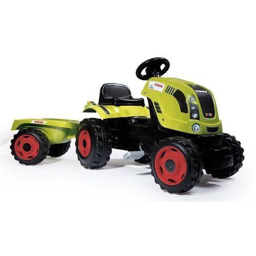 traktor farmer xl claas arion 400 z przyczepą marki Smoby