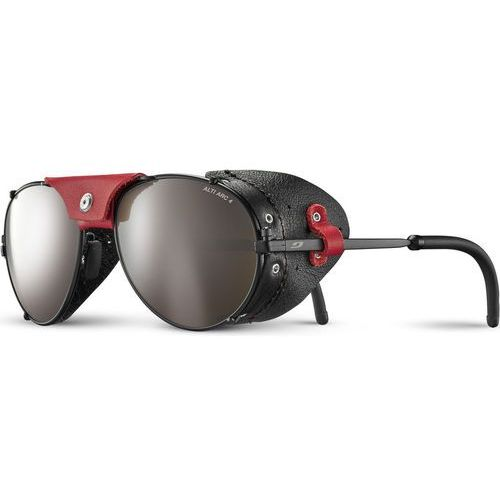 Julbo cham alti arc 4+ okulary przeciwsłoneczne mężczyźni, black/red 2020 okulary alpinistyczne
