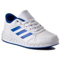 Buty adidas - BA9544 Ftwwht/Blue, kolor Biały