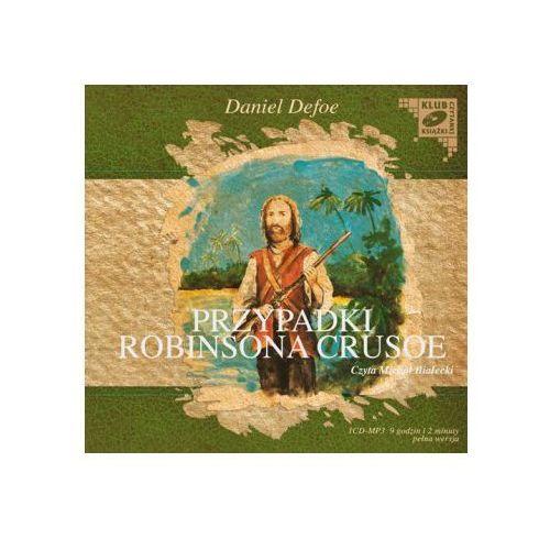 Przypadki Robinsona Crusoe. Klub czytanej książki. Audiobook (1 CD-MP3) + zakładka do książki GRATIS, Daniel Defoe
