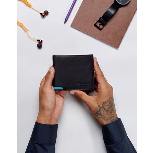 corcoin coin wallet in leather in black - black marki Ted baker