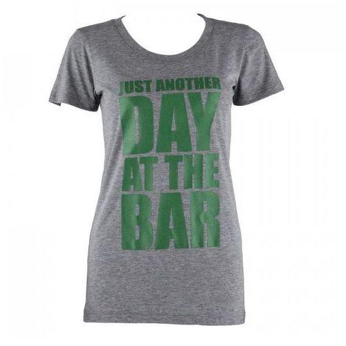 T-shirt treningowy damski rozmiar xl szary melanż marki Capital sports
